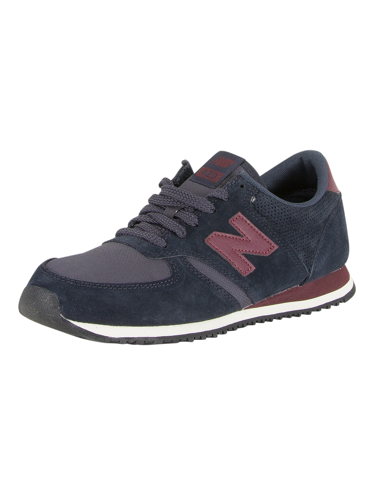 new balance 420 burgundy navy