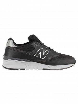 New Balance Black/Grey 597 Trainers