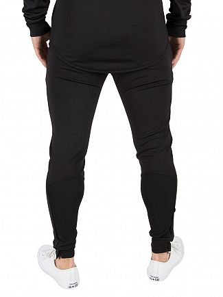 Sik Silk Black/Gold Zonal Logo Track Joggers