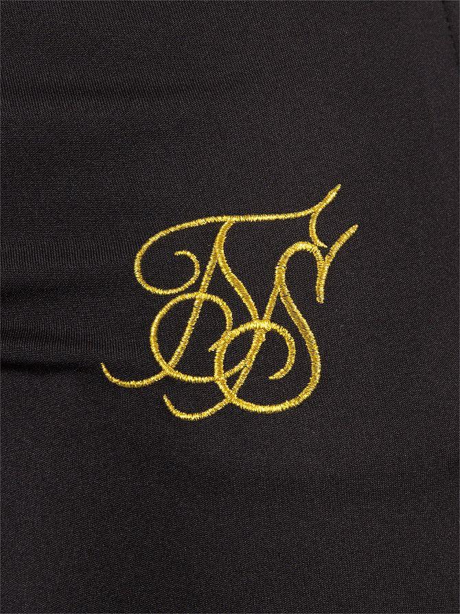 Sik Silk Men S Zonal Logo Track Joggers Black Ebay