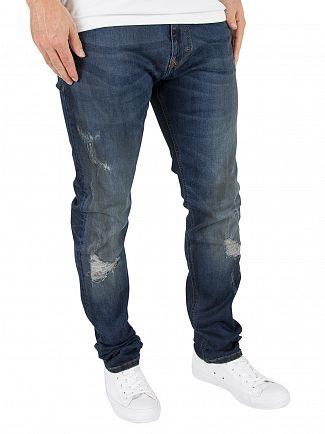 Vivienne Westwood Blue Skinny Pantaloni Jeans
