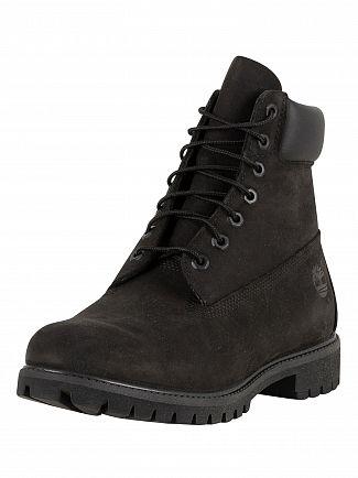 Timberland Black/Black AF 6 Inch Premium BT Boots
