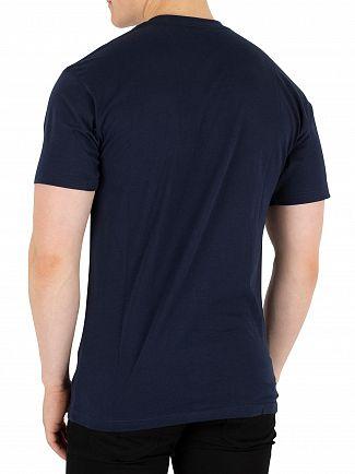 Vans Navy/White Classic Logo T-Shirt