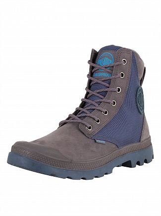Palladium Rabbit/Dark Denim Pampa Sport Cuff WPN Boots
