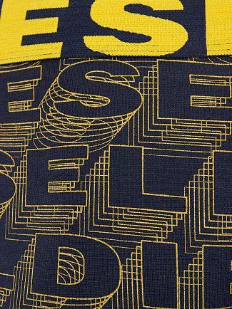Diesel Black/Yellow 2 Pack Shawn Seasonal Logo Trunks