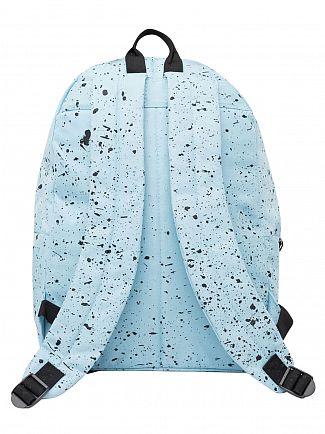 Hype Sky Blue/Black Speckle Logo Backpack