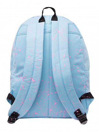 Hype Sky Blue/Pink Speckle Logo Backpack