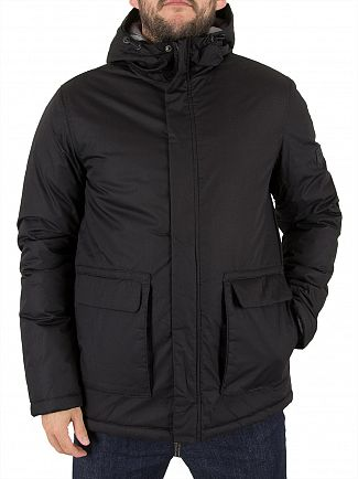 Jack & Jones Black Wang Logo Jacket