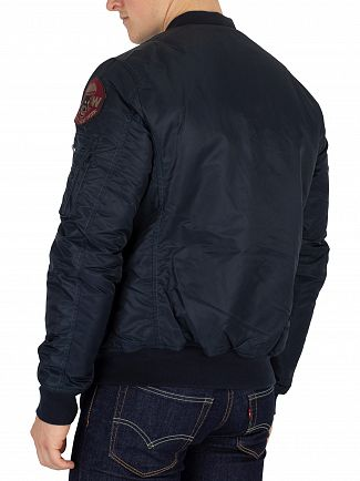 Schott Navy Airforce 2 Bomber Jacket