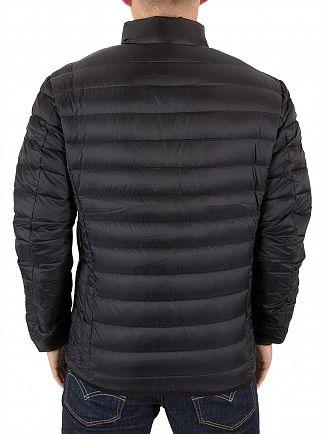 Schott Black Oakland Puffa Jacket