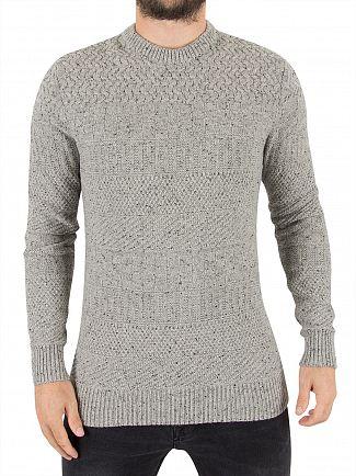 Superdry Flannel Tweed Skolm Textured Knit