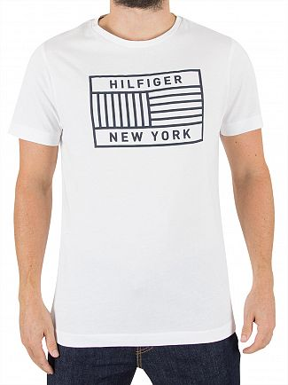 Tommy Hilfiger Bright White Norman Graphic T-Shirt