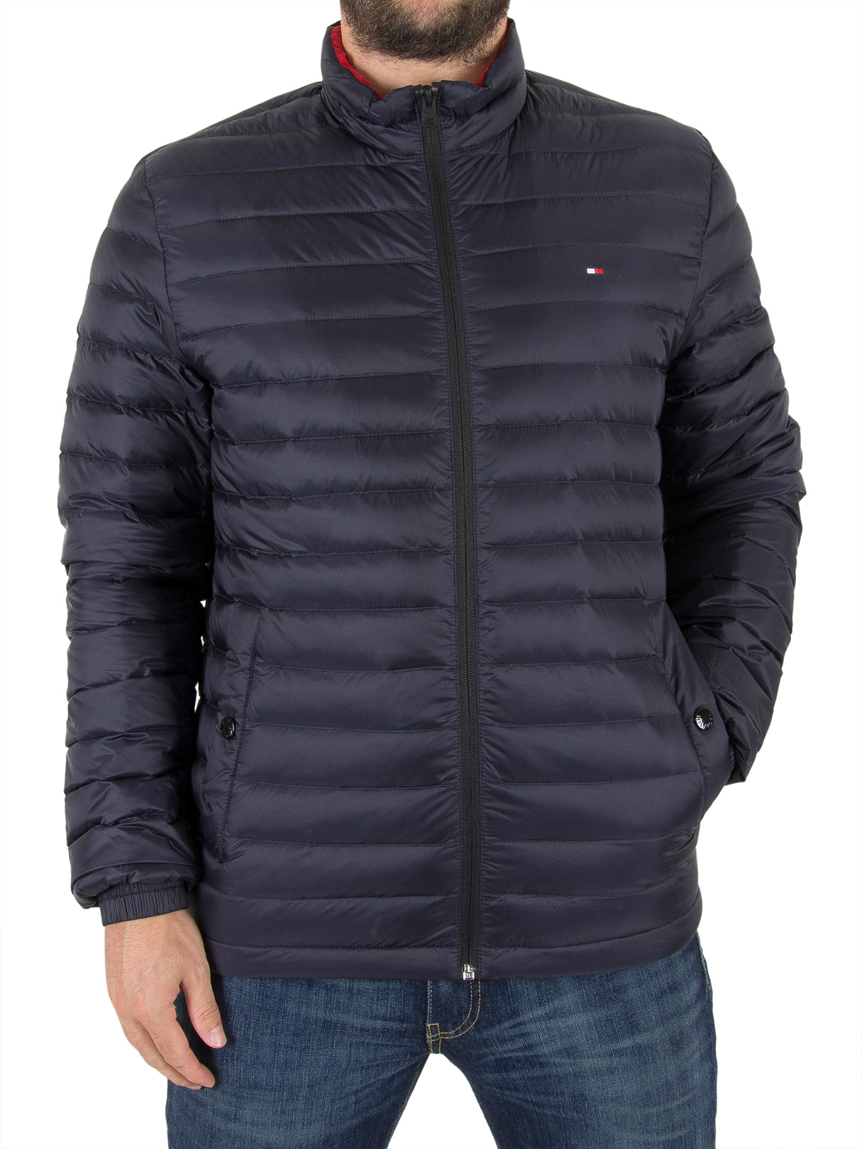 Tommy Hilfiger Sky Captain Packable Down Bomber Jacket
