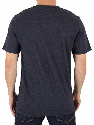 Carhartt WIP Dark Navy Heather Pocket T-Shirt
