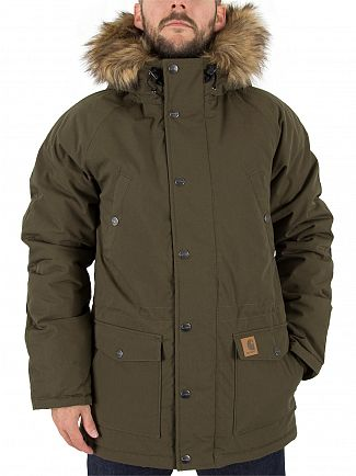 Carhartt Wip Cypress/Black Trapper Parka Jacket