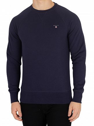 Gant Evening Blue Original Sweatshirt