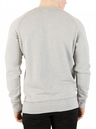 Levi's Grey Heather Original Sweatshirt