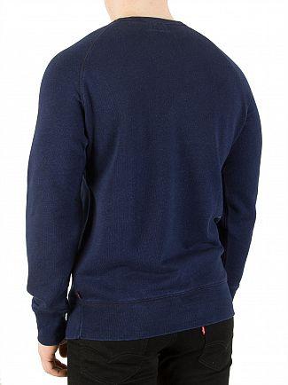 Levi's Dark Indigo Original Sweatshirt