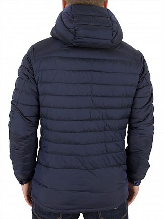 Scotch & Soda Navy Lightweight Quilted Jacket