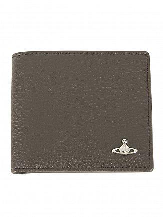 Vivienne Westwood Green Orb Credit Card Holder Wallet