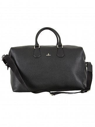 Vivienne Westwood Black Weekender Orb Bag