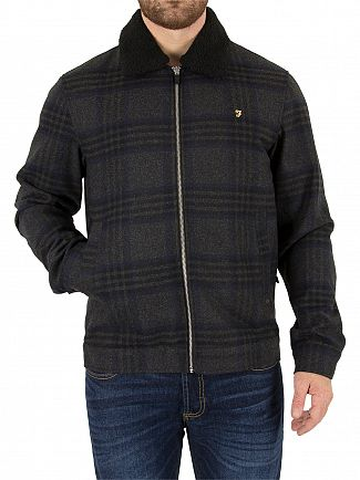 Farah Vintage Grey Marl Otley Jacket