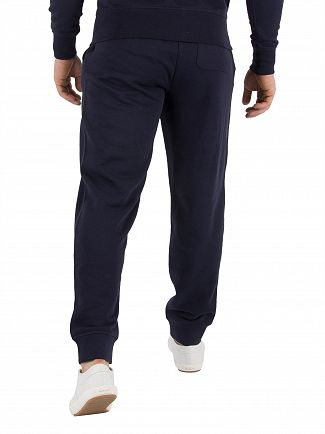 Gant Evening Blue Original Logo Joggers