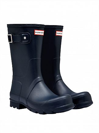 Hunter Navy Original Short Wellies
