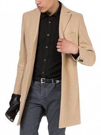 J Lindeberg Sand Wolger 77 Compact Melton Jacket