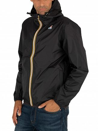 K-Way Black Le Vrai Claude 3.0 Jacket