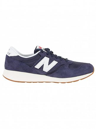 New Balance Navy/White 420 Trainers