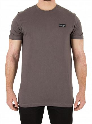 Nicce London Charcoal Division T-Shirt