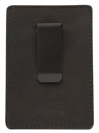 Superdry Black Premium Money Clip Wallet