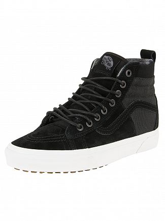 Vans Black/Flannel Sk8-Hi 46 MTE DX Trainers