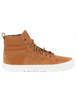Vans Glazed Ginger/Flannel Sk8-Hi 46 MTE DX Trainers