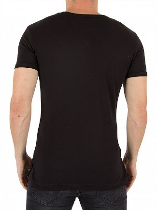 Vivienne Westwood Black Corset Trompe L'oeil Graphic T-Shirt