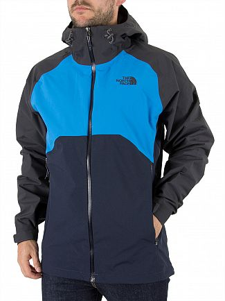 The North Face Navy/Blue Stratos Panel Jacket