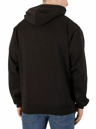 Nicce London Black Chest Logo Hoodie