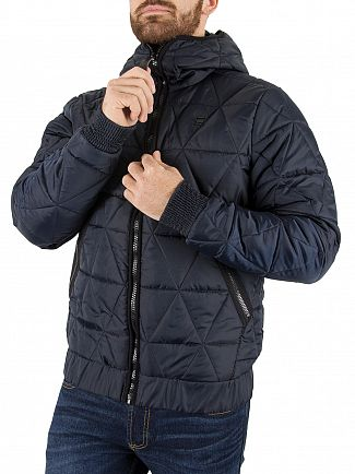 G-Star Mazarine Blue Strett Utility Quilted Jacket