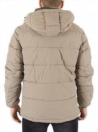 Jack & Jones Brindle Figure Puffa Jacket