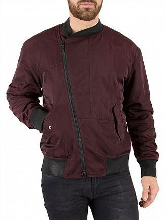 Religion Merlot Bonhill Bomber Jacket