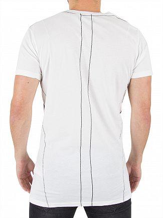 Religion White Cheeky Devil T-Shirt