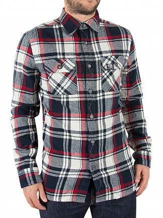 Superdry Hudson Black Check Lumberjack Shirt