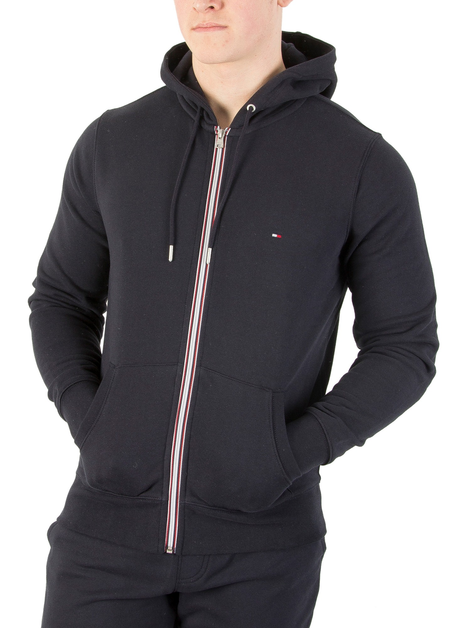 tommy hilfiger sky captain core zip hoodie stand out. Black Bedroom Furniture Sets. Home Design Ideas