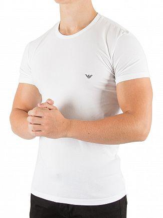 Emporio Armani White Crew T-Shirt