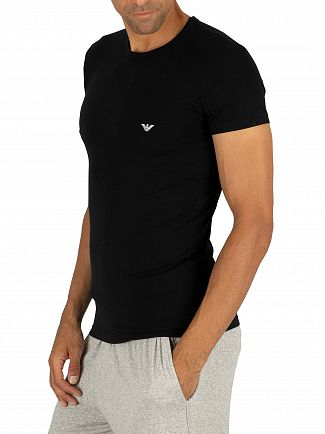 Emporio Armani Black Crew T-Shirt