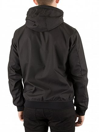 Jack & Jones Black Max Hooded Jacket