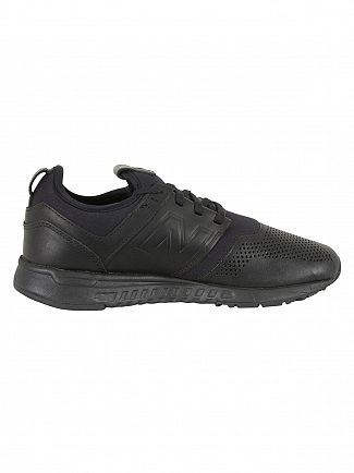 New Balance Black/Black 247 Trainers