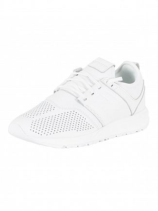 New Balance White 247 Trainers