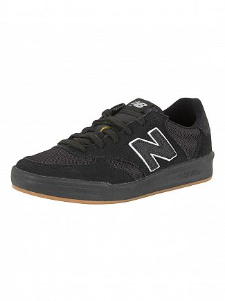 New Balance Black/Brown 300 Trainers